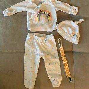 Calvin Klein Newborn set